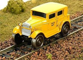 Broadway 1929 Track Inspection Sedan Maintenance-of-Way HO Scale Model Train Passenger Car #1906