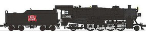 Broadway USRA Light Mikado 2-8-2 DCC Rock Island #2300 HO Scale Model Train Steam Locomotive #2178