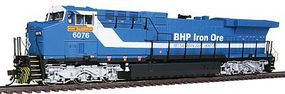 Broadway GE AC6000 DCC Equipped BHP Iron Ore #6076 HO Scale Model Train Diesel Locomotive #2459