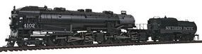 Broadway Baldwin 4-8-8-2 AC4 Cab Forward Southern Pacific HO Scale Model Train Steam Locomotive #2675