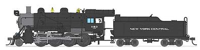 Broadway Limited Imports Baldwin 2-8-0 Consolidation New York Central #1183 -- HO Scale Model Train Steam Locomotive -- #2796