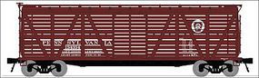 Broadway K7 Stock Car with Mule Sound Pennsylvania RR N Scale Model Train Freight Car #3367