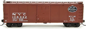 Broadway Steel Boxcar New York Central Gothic Lettering #105065 N Scale Model Train Freight Car #3411
