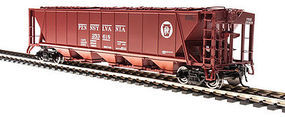 Broadway H32 Hopper Pennsylvania RR red #B (2) HO Scale Model Train Freight Car #4084