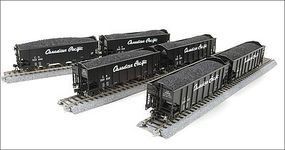 Broadway 3-bay Hopper Canadian Pacific 6 pack HO Scale Model Train Freight Car #4453