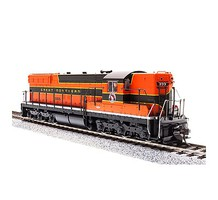 Broadway EMD SD7 w/Sound & DCC - Paragon3(TM) Great Northern #558 (Empire Builder, Pullman Green, Omaha Orange)