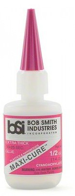 Bob Smith Industries Maxi-Cure Extra Thick CA Glue .5oz