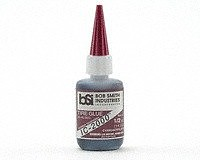 Bob Smith Industries Ic-2000 Black Rubber-Toughened CA Glue .5oz