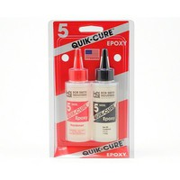 Bob-Smith Quik-Cure 5-Minute Epoxy 4.5oz