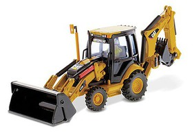 B2B-Replicas Cat 420E IT Backhoe Loadr - 1/50 Scale