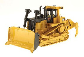 B2B-Replicas Caterpillar D10T Track-Type Tractor - Assembled - DM High Line Series Yellow, Black - 1/50 Scale