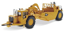 B2B-Replicas Caterpillar 657G Wheel Tractor-Scraper - Assembled - DM High Line Series Yellow, Black - 1/50 Scale