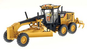 B2B-Replicas Caterpillar 140M Motor Grader - Assembled - DM High Line Series Yellow, Black - 1/50 Scale