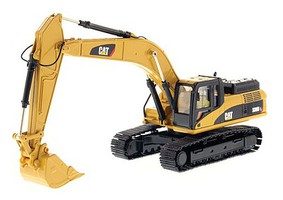 B2B-Replicas Caterpillar 336D L Hydraulic Excavator - Assembled - DM High Line Series Yellow, Black - 1/50 Scale