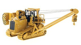 B2B-Replicas Caterpillar 587T Pipelayer - Assembled - DM High Line Series Yellow, Black - 1/50 Scale