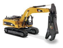 B2B-Replicas Cat 330D L Excvtr w/Shear - 1/50 Scale