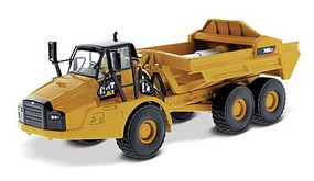 B2B-Replicas Caterpillar 740B EJ Articulated Truck - Assembled - DM High Line Series Yellow, Black - 1/50 Scale