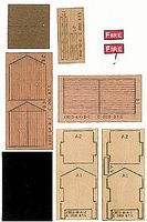 BTS Fire Hose Storage Shed - Kit (Laser-Cut Wood & Card) O Scale Model Railroad Building #13010