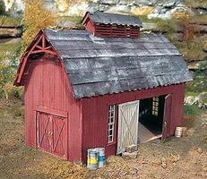BTS Goin Home Series - Pritchards Barn HO Scale Model Railroad Building #27420