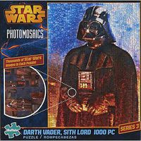 Buffalo-Games Photomosaic Star Wars Darth Vader Sith Lord 1000p