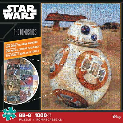 Buffalo Games Star Wars Episode VII BB-8 1000pcs -- Jigsaw Puzzle 600-1000 Piece -- #10607