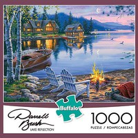 Buffalo-Games Lake Reflection 1000pcs Jigsaw Puzzle 600-1000 Piece #11239
