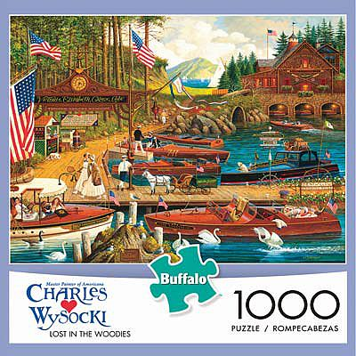 Buffalo Games Lost In The Woodies 1000pcs -- Jigsaw Puzzle 600-1000 Piece -- #11426