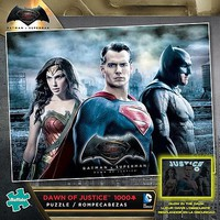 Buffalo-Games Dawn of Justice Glow-in-the-Dark Puzzle (1000pc)