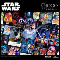 Buffalo-Games Star Wars Collage- Original Trilogy Posters Puzzle (1000pc)