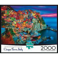 Buffalo-Games New Cinque Terre 2000pcs Jigsaw Puzzle Over 1000 Piece #2034