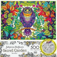 Buffalo-Games Forest Owl 500pcs Build/Color Jigsaw Puzzle 0-599 Piece #3842