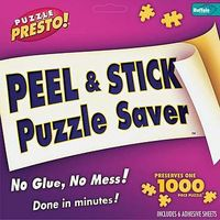 Buffalo-Games Puzzle Presto Peel/Stick Puzzle Saver Jigsaw Puzzle Glue Mat Accessory #9202
