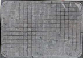 Busch Concrete Sidewalk Material (Laser-Cut Card) O Scale Model Railroad Building Accessory #10400