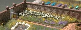 Busch Oxeye Daisies - White & Yellow pkg(120) HO Scale Model Railroad Grass Earth #1207