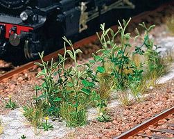 Busch Bad Weeds - Kit HO Scale Model Railroad Grass Earth #1252