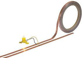Busch Flat Copper Cable - 33 10m Roll Model Railroad Hook-Up Wire #1799