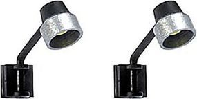 Busch Wall-Mount Lights - With Yellow LEDs HO Scale Model Railroad Roadway Light #4129