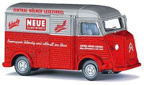 Busch 1958 Citroen H Van Zeitschriften-Lieferwagen HO Scale Model Railroad Vehicle #41908