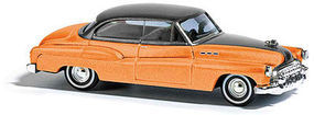 Busch Buick 50 orange Metallic HO Scale Model Railroad Vehicle #44704