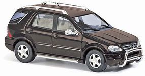 Busch Mercedes-Benz M Klasse SUV ML55 AMG Offroad Colors Vary HO Scale Model Railroad Vehicle #48571