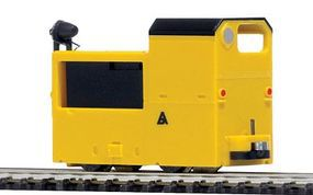 Busch B 360 Mine Loco Yellow HO Scale Model Railroad Locomotive #5010