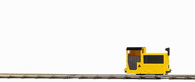 Busch Gmbh B 360 Mine Loco Unpowered Yellow, Black -- HO Scale Model Train Locomotive -- #5030