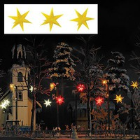 Busch Illuminated Stars Ylw 3/ - HO-Scale (3)