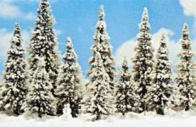 Busch Winter Set HO Scale Model Railroad Tree #6465