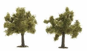 Busch Trees - Fruit Tree - 35mm - Package of 2 Z Scale Model Railroad Tree #6817