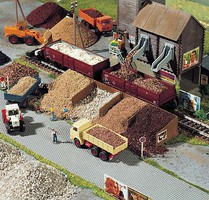 Busch Flex roadway cobblestone - N-Scale