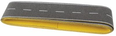 Busch Gmbh Flexible Self Adhesive Paved Roadway -- N Scale Model Railroad Road Accessory -- #7087
