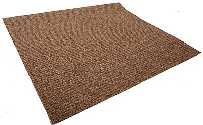 Busch Gmbh Plowed Field Sheet - 19 x 11'' 48 x 28cm pkg(2) -- N Scale Model Railroad Grass Mat -- #7183