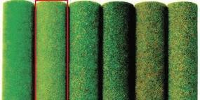 Busch Spring 79 x 32, 200 x 80cm Model Railroad Grass Mat #7231