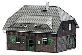 Busch Village House - 65 x 49mm N Scale Model Railroad Building #8245